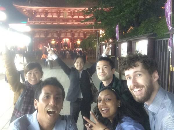 Selfie in Sensoji